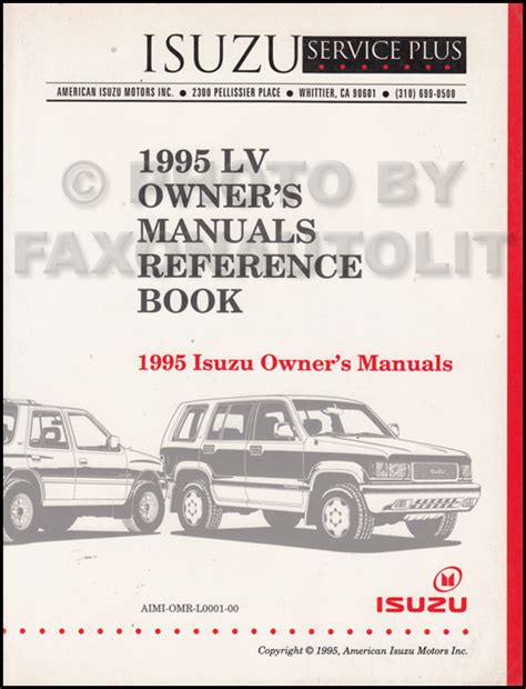 download car manuals 1996 honda passport user handbook service manual car owners manuals free downloads 1995 honda passport navigation system