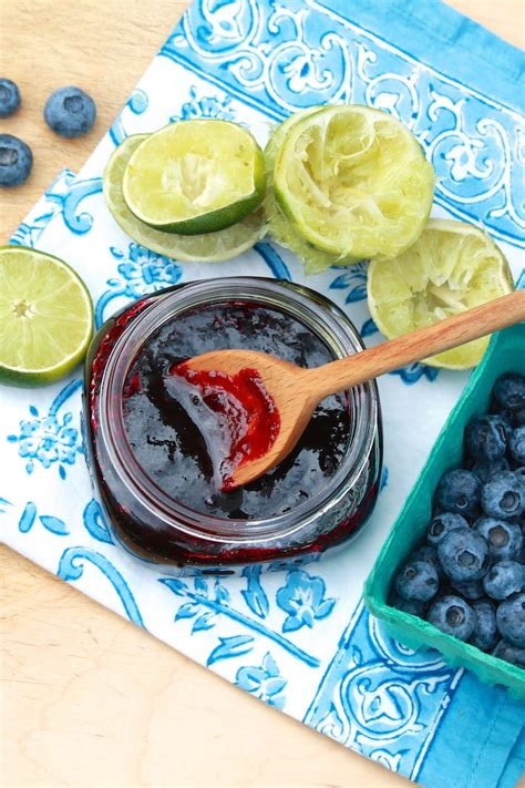 Jam Blueberry By Lkl Present blueberry lime jam the avenue kitchen
