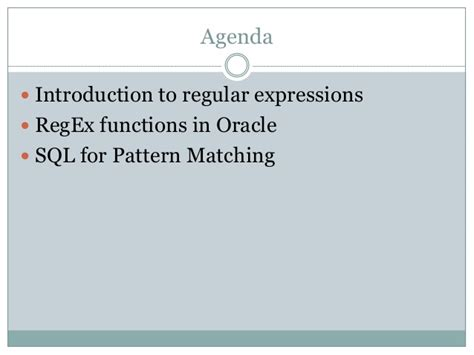 pattern matching in unix sql for pattern matching oracle 12c