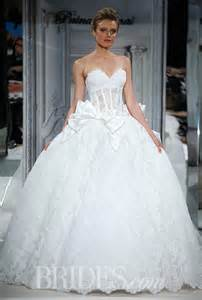 pnina tornai for kleinfeld 2014 style 4254 strapless lace ball gown wedding dress with