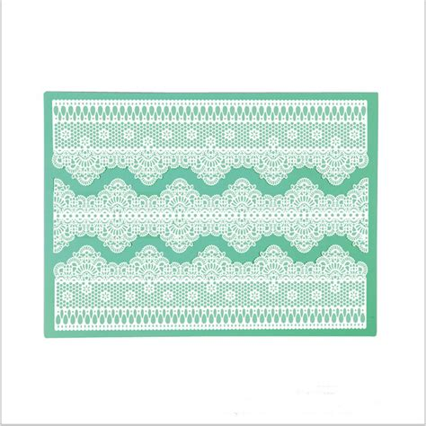 Fondant Embossing Mat by Silicone Embossing Mat Mejorstyle