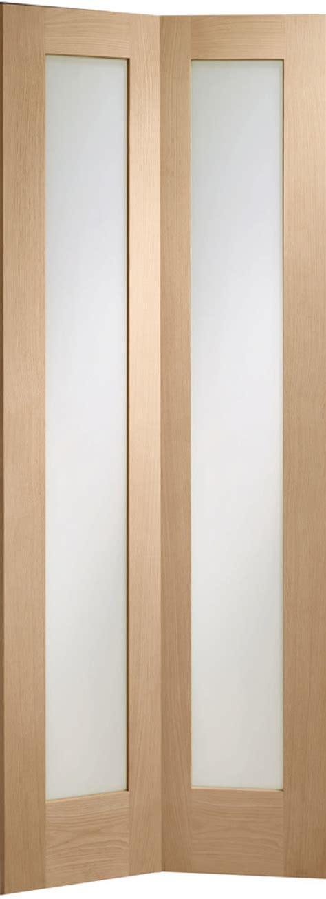 Glazed Bifold Interior Doors Pattern 10 Oak Bifold Glazed Doors With Clear Glass Vibrant Doors