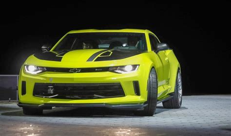 chevy reveals pair  camaro concepts   sema show