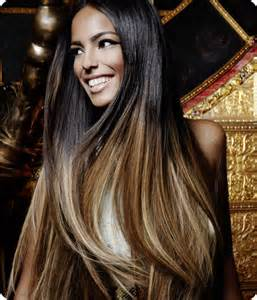 ombre extensions 18 quot clip in ombre dip dye remy human hair extensions diy 6 colours ebay