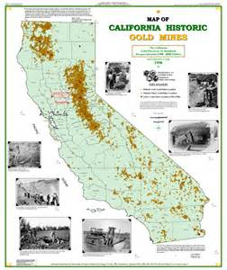california gold maps california resources hazards and water mrborden s