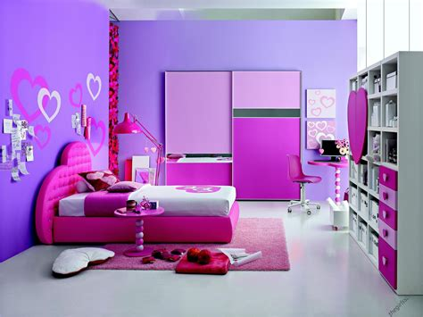 awesome Purple Teenage Girl Bedroom Ideas #2: bedroom-adorable-teenage-girl-design-cool-purple-wall-paint-color-pink-single-bed-white-shelves-area-rug-designs-colorful-bedroom-wall-designs-ideas-pink-purple-and-purple-wall-paint-design.jpg