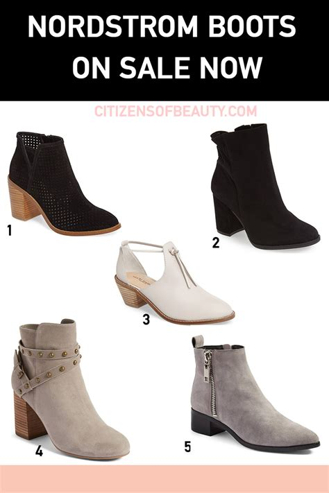 nordstrom boots sale guide to fall boots and booties on sale now citizens of