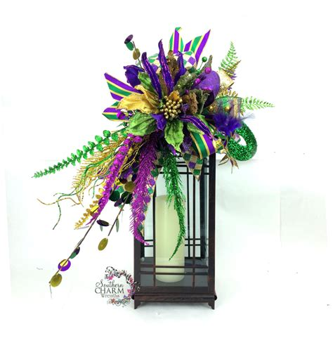 Mardi Gras Decorations by Mardi Gras Lantern Swag Mardi Gras Decorations Mardi Gras