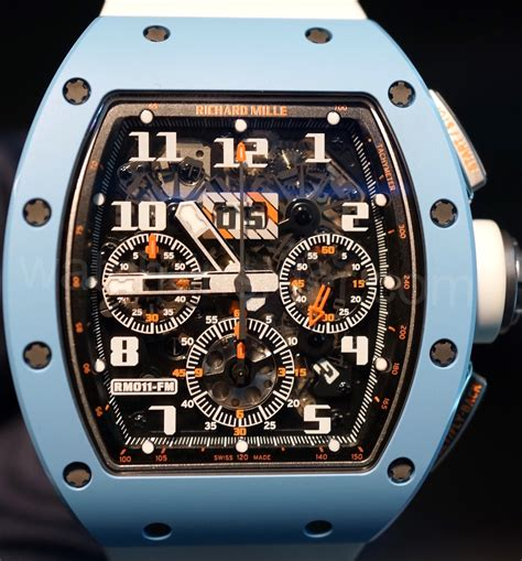 Limited Edition Boot R 011 richard mille rm011 annual calendar flyback chronograph blue ceramic last edition limited