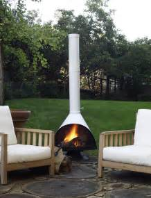 Corten Steel Fire Pit - malm fireplace design within reach