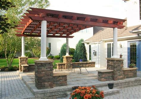 Patio Furniture Pergola Arched Pergola Traditional Exterior Other Metro By