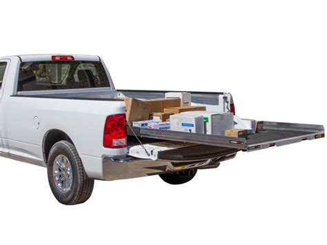 truck bed cargo slide slidemaster slide out truck bed