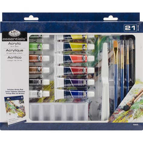 acrylic paint set kmart essentials set acrylic painting