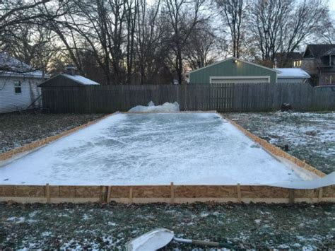 backyard ice rink ideas build ice rink your backyard outdoor furniture design