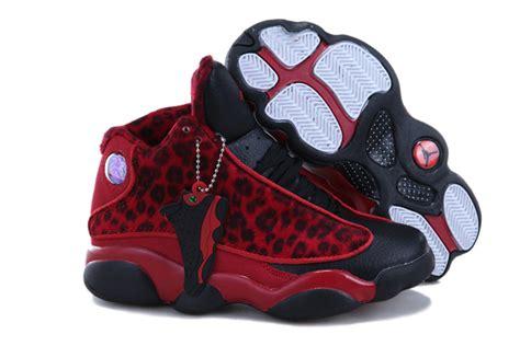 air 13 leopard black white shoes aj