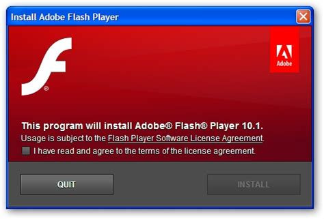 adobe flash player gets updated to v 10.1, plugs 32