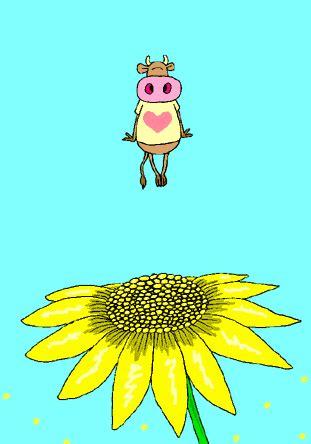 bunga matahari gif gambar animasi animasi bergerak