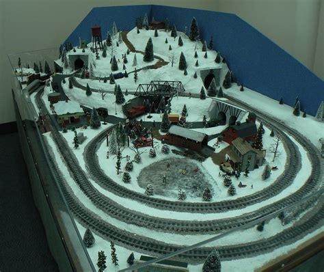 layout scene model train conservacity