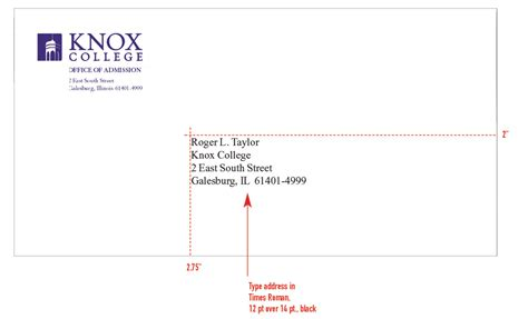 College Letter Mail Letter Format Envelope New Calendar Template Site