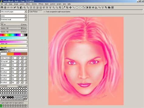 best painting software twistedbrush free trial digital paint software