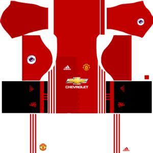 manchester united kits 2016/2017 dream league soccer
