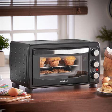 vonshef 220 volts 19 liter toaster oven grill 1400 watts
