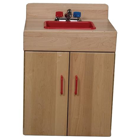 wood designs play kitchen wood designs wd10220 maple play kitchen sink schoolsin