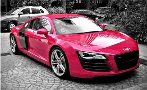 pink audi r8 pink audi r8