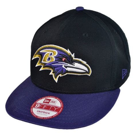 nfl hats new era new era baltimore ravens nfl 9fifty snapback baseball cap