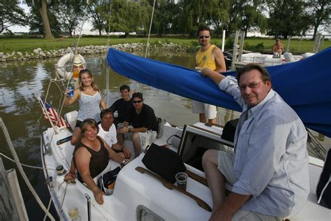 lake erie mills race means   sailing  blade