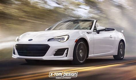 convertible toyota 2017 2017 subaru brz convertible rendered still not happening