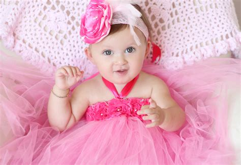 beautiful baby photos with flowers gorgeous beautiful pink flower tutu dress for baby