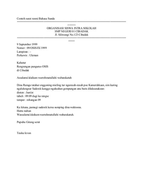 Contentcontoh Surat Balasan Formal Bahasa Inggris Search