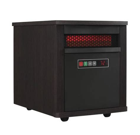Walmart Heaters For Home by 1500w Home Infrared Quartz Heater Espresso