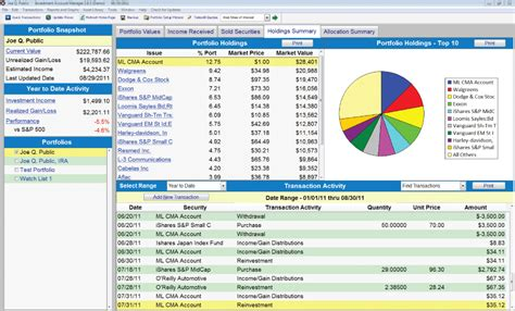 fund tracker free excel template investing post