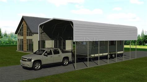 Rv Carports by 18x36 Metal Rv Carport