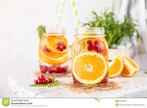 Detox Water With Apples And Oranges by Fruit Infused Detox Water With Orange Currants And