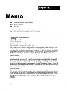 How To Write A Memo Template by How Is A Business Memo Format Written Obfuscata