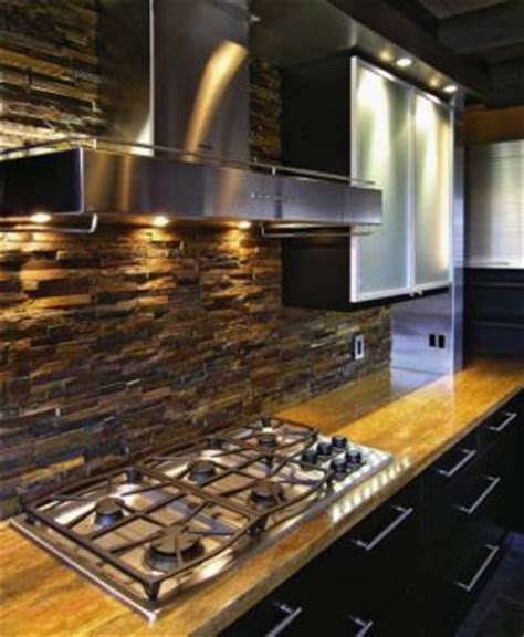 stacked stone kitchen backsplash stacked stone backsplash flickr photo sharing