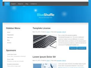 free css 2471 free website templates css templates and blueshuffle free website template free css templates