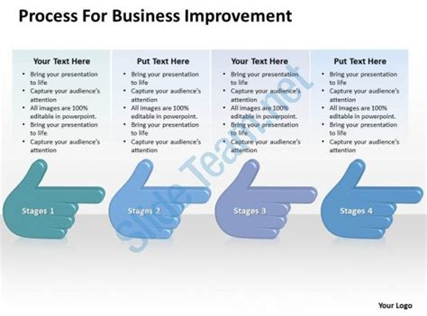 Business Powerpoint Exles Improvement Templates Ppt Backgrounds For Slides 0515 Powerpoint Process Improvement Plan Template Powerpoint