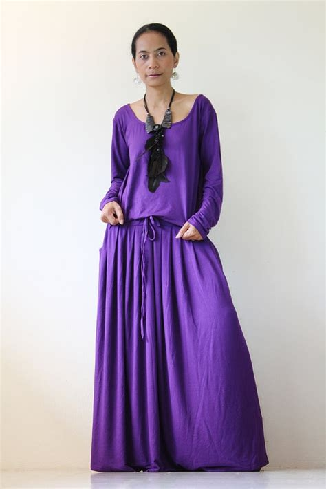 Jaket Moge Simply Basic purple maxi dress sleeve dress autumn thrills collection the o jays sleeve and