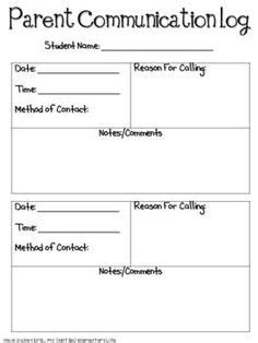 1000 ideas about parent communication forms on pinterest