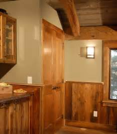 half wall wood paneling designing against the grain reclaimed paneling equals environmental health