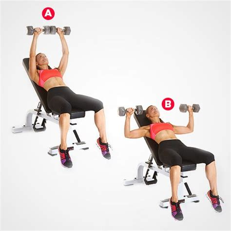 45 lb dumbbell bench press 74 best images about workouts on pinterest medicine ball