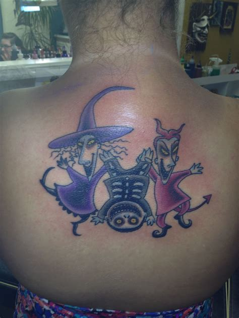 right coast tattoo my lil lock shock and barrell from