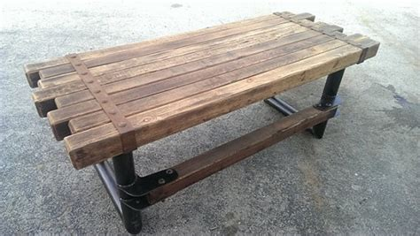 Modern Dining Table With Bench by Rustic Industrial Furniture Design Tedxumkc Decoration
