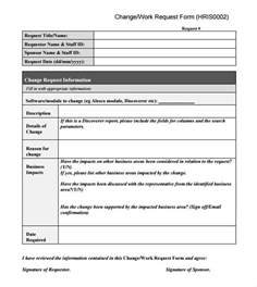 request for template sle change request 7 documents in pdf word