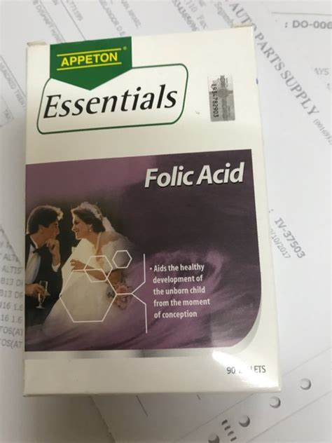 Appeton Folic Acid appeton essential folic acid 400mcg reviews