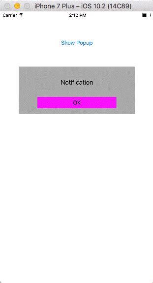xamarin tutorial in hyderabad create a popup view in xamarin ios app
